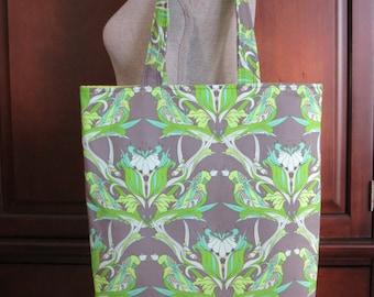 Modern Tote Bag, Book Bag, School Bag, Shoulder Bag