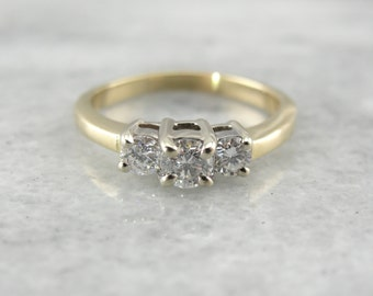 Past, Present and Future Three Diamond Ring W9F6MX-N