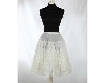 1950s Vintage lace petticoat