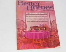 Vintage Better Homes And Gardens Magazine January 1967
