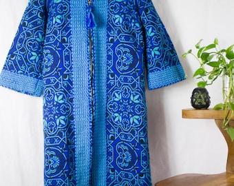 Arvi Spanish Hooded Tapestry Coat