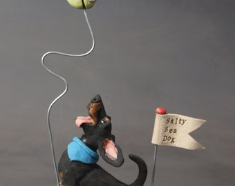 Salty Sea Dog - Dachshund Sculpture