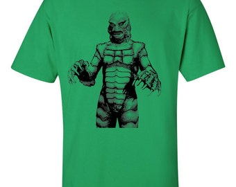 Creature from the Black Lagoon T Shirt 1954 vintage retro horror movie