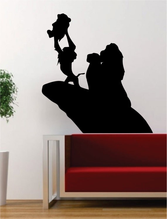 Lion King Wall Silhouette by BoopDecals