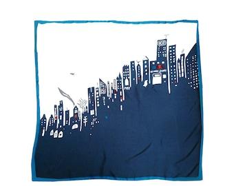 Marc Jacobs Scarf New York skyline print