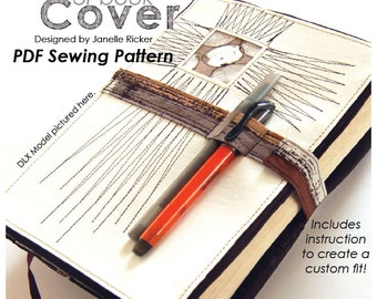 PDF Sewing Pattern -  A More Organized Sunday Morning: Cross Bible or Book Cover