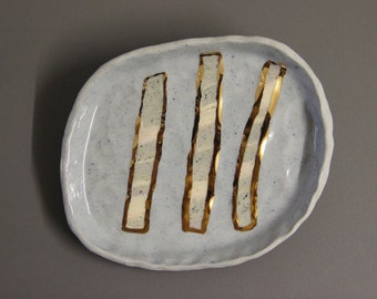 RUTH'S REGISTRY - wedding ring dish / best friend engagement gift / unique ring dish / gold ring holder / unique gift
