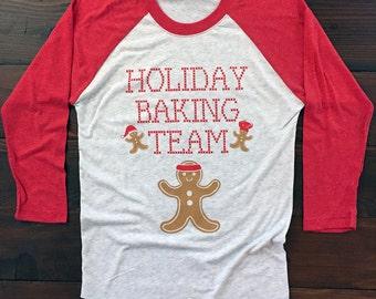 Holiday Baking Team. Egg Nog Team. Christmas Baking Team. B0100