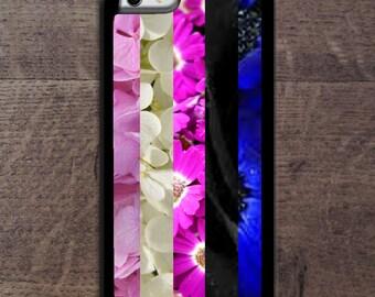 Genderfluid Pride flag in flowers Phone case