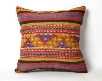 cushions, pillow cover, home decor, turkish kilim pillow, kilim pillow cover, accent pillow, boho, bohemian cushions, turkish pillow