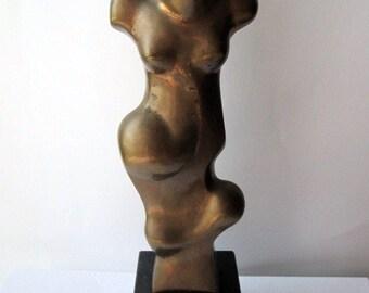 "Bronze Sculpture. ""Woman"" by Yago Vilamanya."