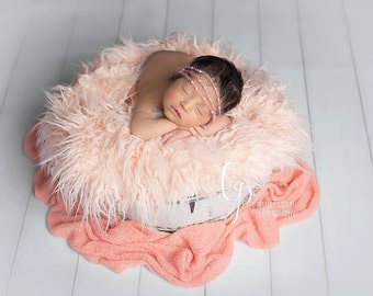 Faux Fur, Newborn Faux Fur, Basket Stuffer, Faux Fur Layer, Newborn Photo Prop, Photography Props, Newborn Photo Props, Newborn Stuffer