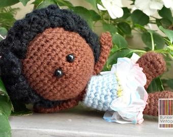 Amigurumi doll - Crochet doll - Crocheted doll -
