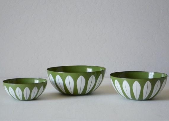 Cathrineholm Lotus Bowls - Catherine Holm - Mid Century Kitchen - Cathrine Holm - Lotus Nesting Bowls - Cathrineholm Bowl