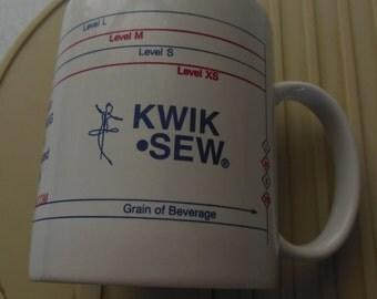 KWIK SEW Collectible Coffee Cup/Mug