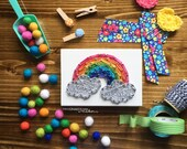 MADE TO ORDER String Art Mini Rainbow Sign