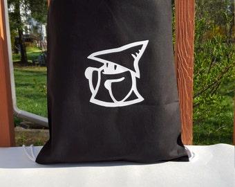 Vivi Black Mage Draw String Bag