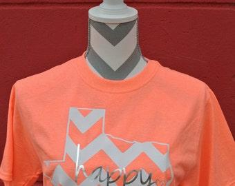 Happy TX Chevron t-shirt