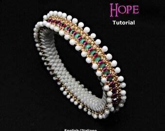 Tutorial Hope Bangle - beading pattern