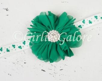 St. Patricks Headband, Girls headbands, Baby Headband, St. Patty's Day Headband, Headbands, Adult Headbands, Irish Headband