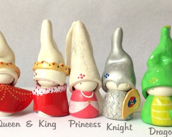 Knight, OM, Gnome, Waldorf, Collectable