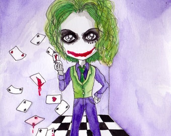 Ana Dess in Joker - Illustration