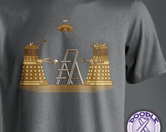 Dalek DIY - Doctor Who Themed T-shirt
