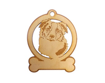 Border Collie Ornament - Border Collie Gifts - Border Collie Gift - Border Collie Ornaments - Border Collie Memorial - Personalized Free