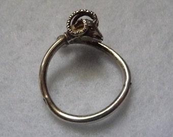 Ring. Arthus Bertrand (Paris). Sterling Silver.