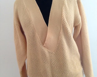 Vintage 70s, cotton sweater