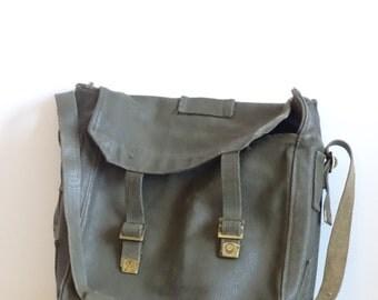 1955 Army Bag, Vintage Military Bag