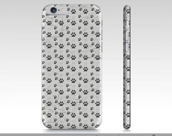 Paw Print iPhone 6 Case Dog Paw iPhone 6 Cases, Cute iPhone Cases For Her, iPhone 6, iPhone 6 Accessories
