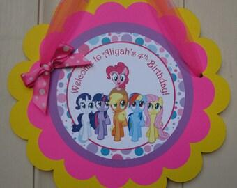My Little Pony - Door Sign