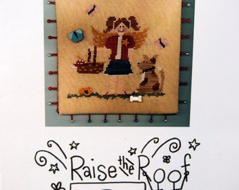 July's Angel By Raise The Roof Designs Cross Stitch Pattern Leaflet 2012