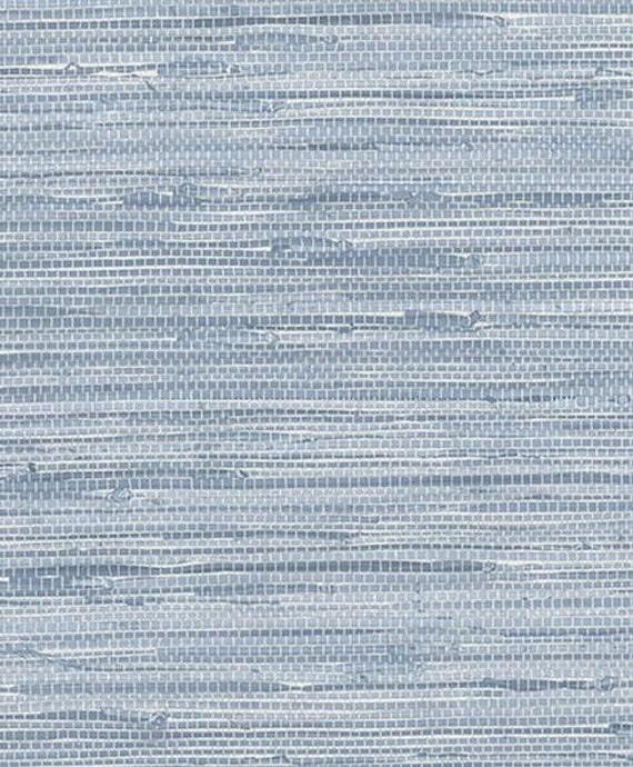 blu simulato grasscloth carta da parati texture faux - Sala Da Pranzo Contemporanea Con Strutturata Beige Grasscloth Carta Da Parati