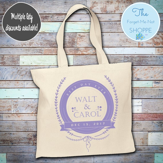Personalized wedding Canvas Tote Bags, Bachelorette Totes, Nautical Bachelorette, Wedding Favor Bags, Tropical, Married, Gifts, Favors