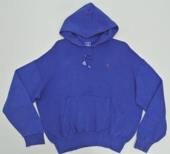 Champion Hoodie Mens Medium Vintage Champion Sweatshirt