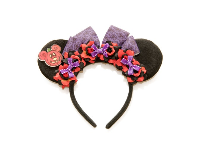 Halloween Mouse Ears Headband