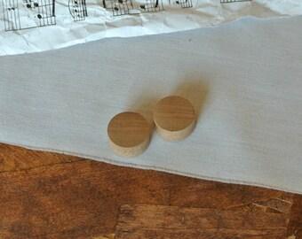 Ear plugs 100% cherry wood