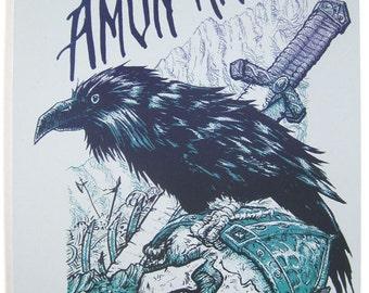 Amon Amarth — Screen Printed Concert Poster