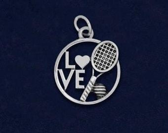 10 Tennis Love Charms (10 Charms) (C-03-SPTN)