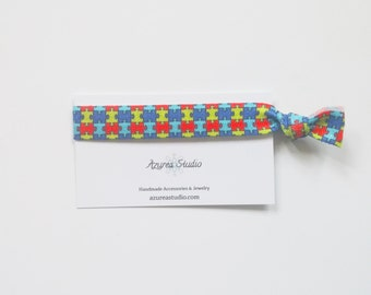 Autism Awareness Hair Tie