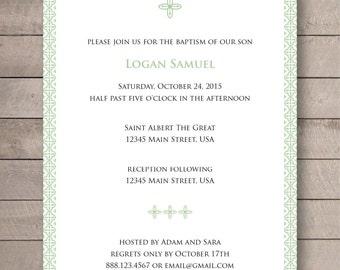 Baptism/Christening Invitation - 5x7