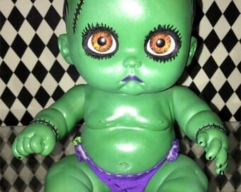 OOAK Baby Frankie Doll