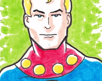 """Miracleman ACEO trading card2 1/2"""" x 3 1/2"""""""