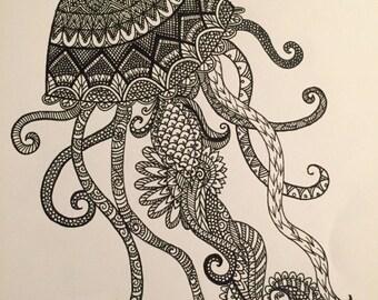 Jellyfish Drawing