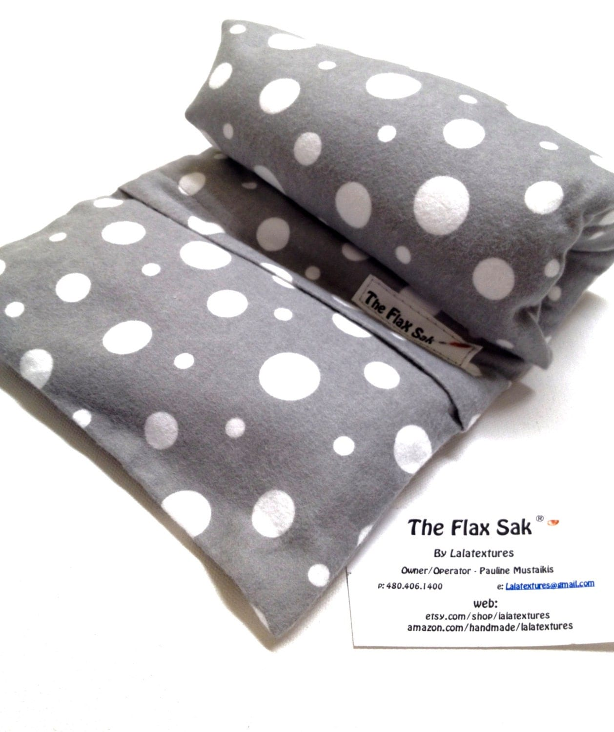 Flax Heating Pad Neck Shoulder Microwave Heat Pack Flax