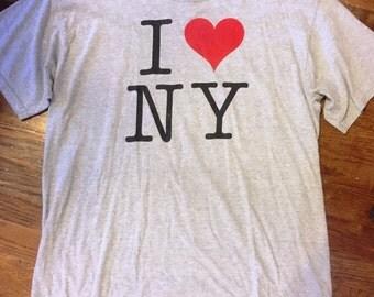size Large, I love NY t-shirt