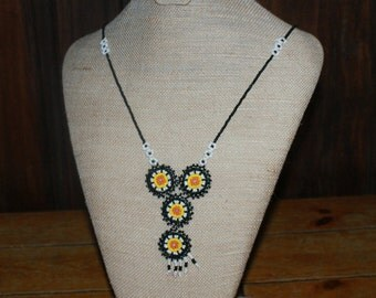 Beautiful Beaded Native American Necklace