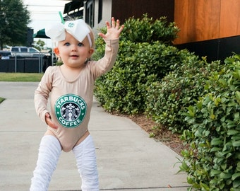 Girls Frappe Costume , Toddler Halloween Costume , Girls Coffee Costume, Coffee Outfit , Coffee Baby Outfit, Cappuchino costume, Frappuccino
